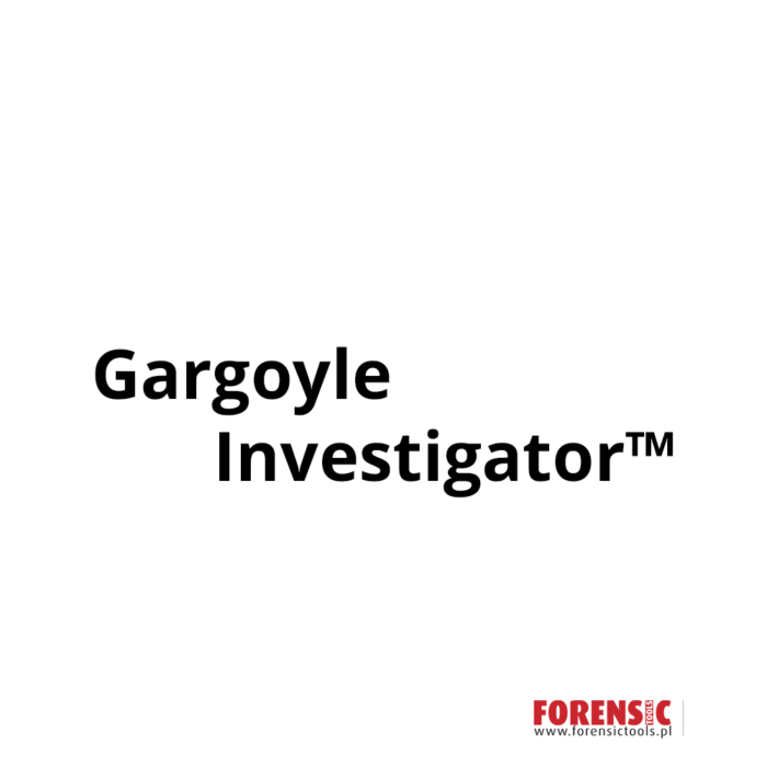 Gargoyle Investigator(TM)-forensictools-mediarecovery