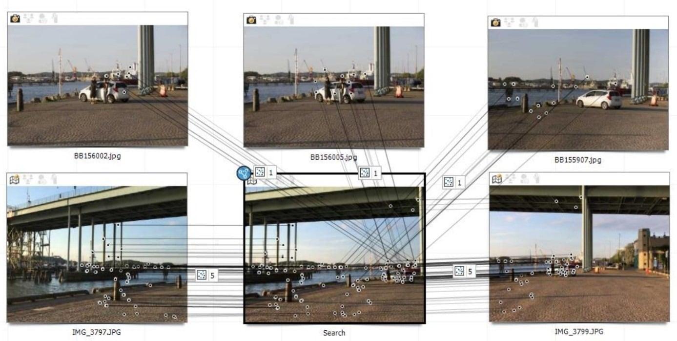 Analiza multimediów poprzez cechy charakterystyczne danej lokalizacji - griffeye